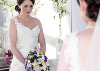 Professional bridal makeup