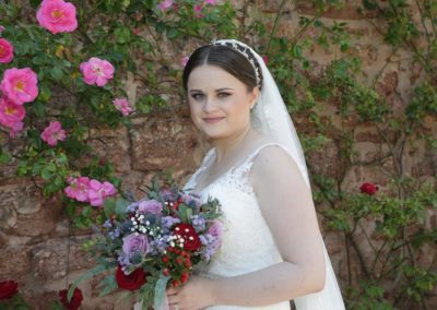 Shropshire based bridal makeup services