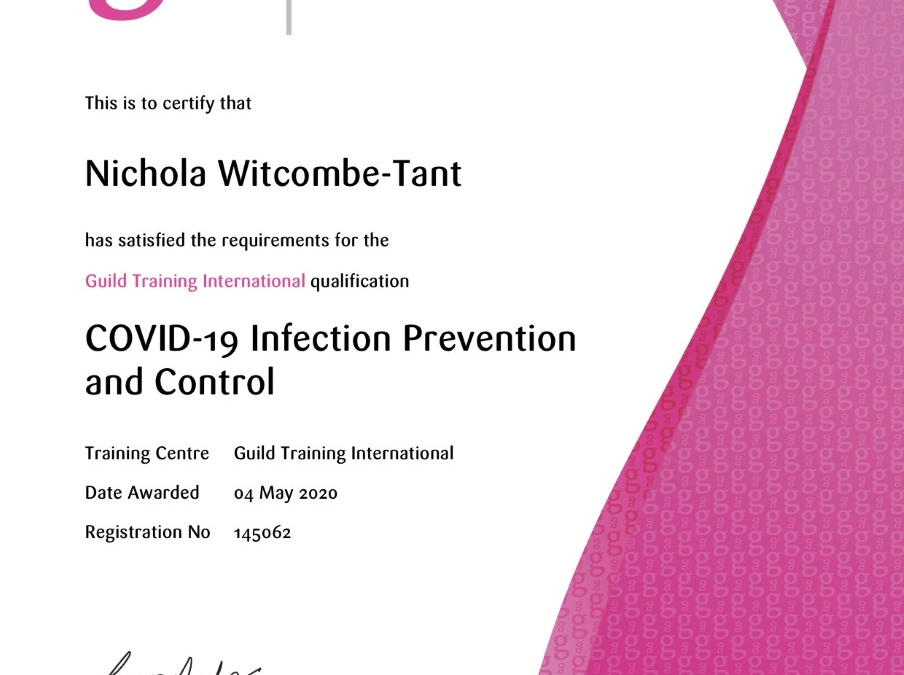 COVID-19 Infection Prevention & Control in the Work Place